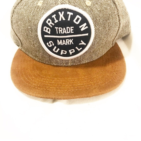 8916e2f5bbd Brixton Other - Braxton Supply Co. adjustable cap